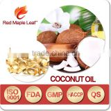 Natural Hair Care Organic Virgin Coconut Oil Essence Hard Capsule