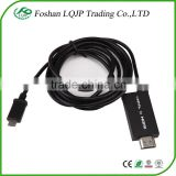 SM-04 1.8M SlimPort 1080P MHL to HD MI Cables Adapter for Samsung for LG for Sony New