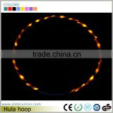 Fitness Flexible Spring Body Exercise Hula Hoop With Lights