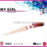 MY GIRL Free Samples Private Label Makeup Brush/High End Goat Hair Make up Brush/Wholesale Beauty body shape makeup brush