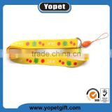 Factory custom polyester football lanyard name brand lanyard