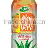 Orange Flavor Aloe vera Drink