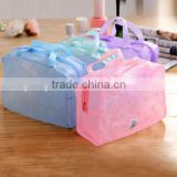 Organizer New Portable Clear Makeup Cosmetic Toiletry Wash Waterproof transparent PVC Cosmetic Bag
