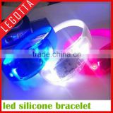 2015 innovative hot new sound activated vibrating led bracelet wholesale