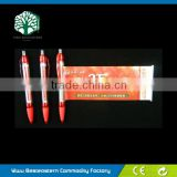 Advertising Pull Out Pen, Promotional Roll Out Pen, Banner Flag Pen