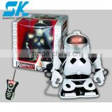 RC robot with light,music and recording, rc cartoon robot toys, educational rc toys 2012 hot selling big scale infrared RC Robot