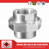 Jetsun high tensile strength fast delivery Steel wire Connector,carbon steel pipe nipple