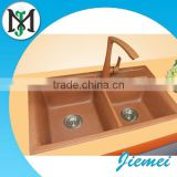Anti-wear, anti-oil composite quartz stone sink for kitchen