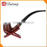 Food Grade Wholesale Briar Tobacco Pipe Vintage Wood Long Herb Pipe