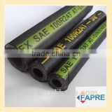 Gold Supplier for Oil R2AT/2SN R1/1SN SAE/DIN Standard Steel wire braided and spiraled High pressure Rubber Hydraulic Hose
