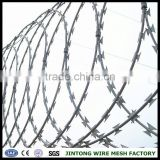 chain link fence top barbed wirerazor blade barbed wirecheap concertina razor barbed wire