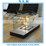 high quality freestanding indoor bio Ethanol fireplace insert CE certificate indoor bio ethanol table fireplace