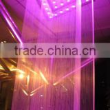 2016 colorful water curtain,waterfall curtain fountain