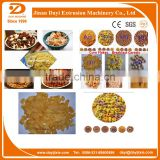 2015 best selling China Dayi Honey Cornflake breakfast cereals processing line