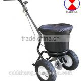 Salt spreader cart, fertilizer spreader cart
