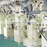 Full sets of automatic rice milling /polishing/clean /package processing machine