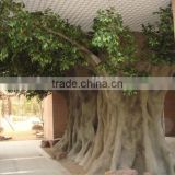 2017 hot sale artificial banyan tree indoor large tree