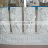 White Marble Stone Relief Sculpture