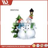 Home & Garden Decoration Resin Craft Xmas Santa Imported Resin Christmas Ornaments Wholesale Mini Led Light