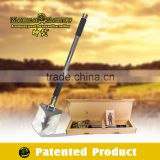 Long Handled High Carbon Steel Shovel For Car/ Multifunction Shovel,hammer,axe,ruler, blade