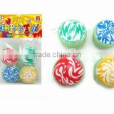 new design promotion printed logo ABS mini cheap yoyo with EN71