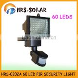 2015 HOT 60 LED super bright solar garden spot light