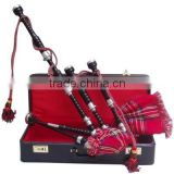 Scottis Bagpipes with hard casing