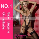 2015 Sunspice newest designer hot sale fashion sex xxl arab women sexy lingeriesexy girls garter www sexy com sexy garter set