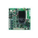 4 Gigabit LAN Firewall Motherboard with Atom D2550 CPU for network security appliance