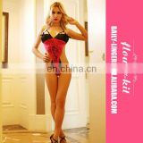 High Performance hot sexy lover sexy lingerie tube babydoll dress