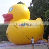 2017 Giant Attractive Commercial Advertising Inflatable Model Rubber Yellow Duck