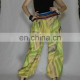 harem cotton gypsy yoga belly dance art fisherman Tribal Alladin Trousers pants