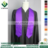 Printed Purple Graduation Stole