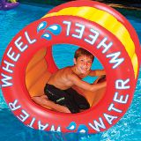 Factory outlet inflatable water wheel pool float swimming activity play toy fun ride game for water