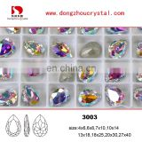 Popular AB Color Point Back Crystal Stone Wholesale Hot !