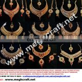 2015 Bollywood designer jewelry sets-Rajwada style jewelry sets - indian bridal jewelry-Wholesale imitation one gram jewelry