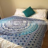 indian pure cotton hand block print bed sheet SSTH-54