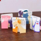 dolphin deer cat cartoon greeting cards Valentine's Day Mini Greeting Cards With Envelopes