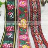 Custom in stock woven jacquard ribbon