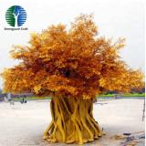 the newest design artificial golden tree banyan tree
