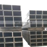 Chinese supplier zinc coated pipe mild square tube 4x4 weight calculator steel pipes square pipe