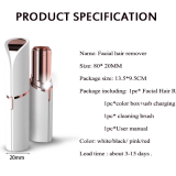 Portable Painless Face Lipstick Mini Lady Womens Facial Hair Remover Electric Epilator