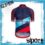 China cheap wholesale sublimation print custom quick dry blank cycling jersey