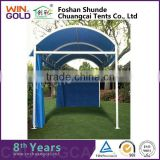 Aluminum / iron small span style 4x8 outdoor party tent                                                                         Quality Choice