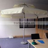 hot sale durable stronger frame double canopy umbrella for outdoor pool