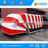 Solar power steel portable car garage with CE