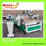 CNC router for making wood door