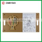 INQUIRY ABOUT Pencils coloring stationery custom handmade paper folder designs