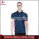 asian size badminton polo shirt 2015 latest polo shirt