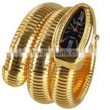 best selling men's Business Snake Quartz Bangle Watch